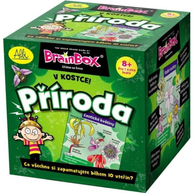 Obrázek produktu Brainbox Příroda v kostce, naučná hra