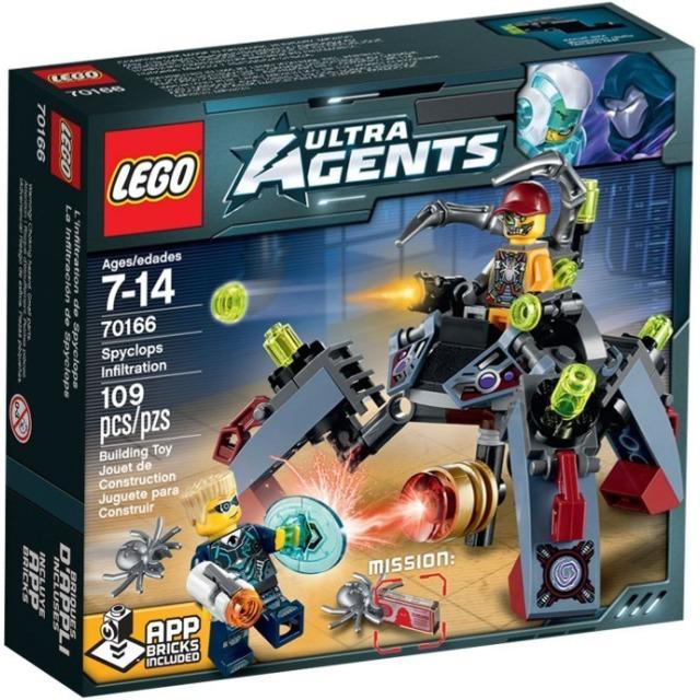Obrázek produktu LEGO Agents 70166 Nájezd Spyclopse