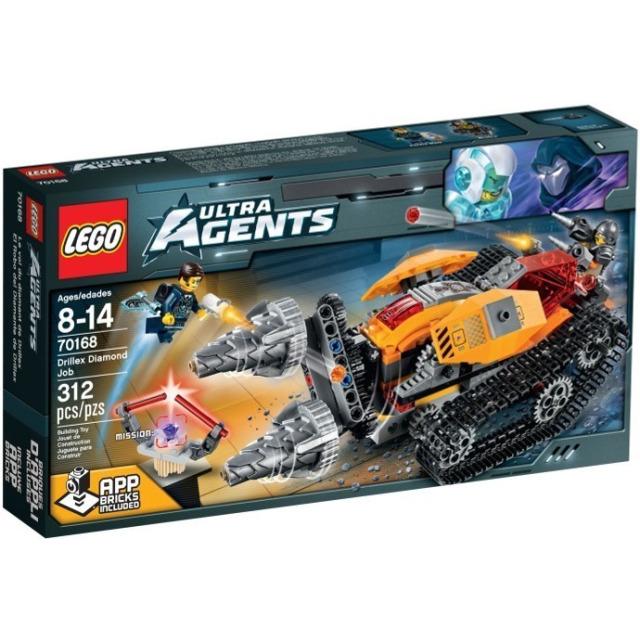Obrázek produktu LEGO Agents 70168 Drillex krade diamant