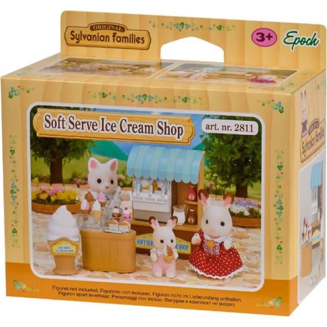Obrázek produktu Sylvanian Families 5054 Stánek s točenou zmrzlinou