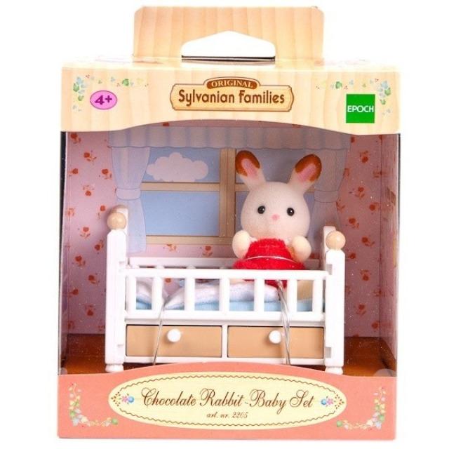 Obrázek produktu Sylvanian Families 5017 Králičí miminko s dětskou postýlkou