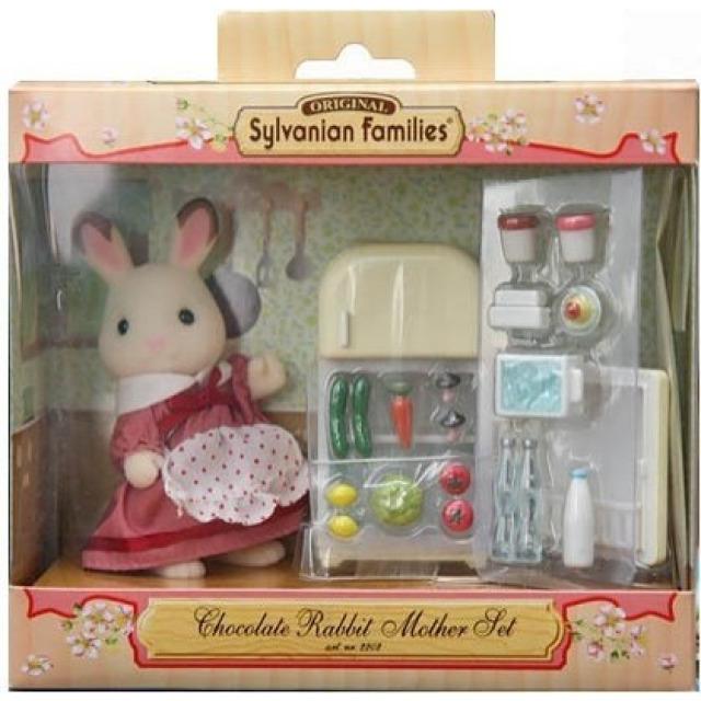 Obrázek produktu Sylvanian Families 5014 Maminka čokoládových králíků s ledničkou