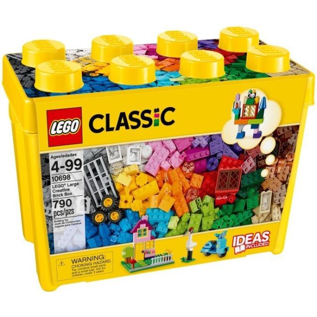 Obrázek produktu LEGO 10698 Kreativní box velký, 790 kostek