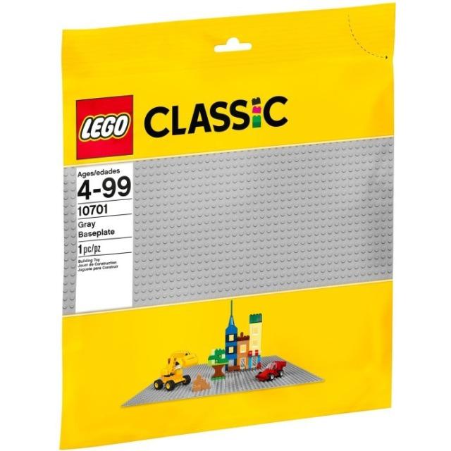 Obrázek produktu LEGO 10701 Velká podložka na stavění šedá