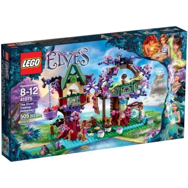 Obrázek produktu LEGO Elves 41075 Elfský úkryt v koruně stromu