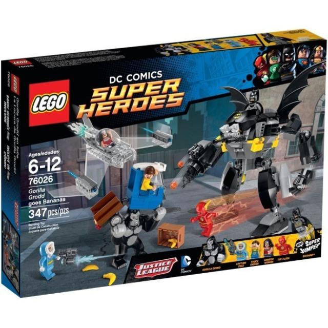 Obrázek produktu LEGO Super Heroes 76026 Řádění Gorily Grodd