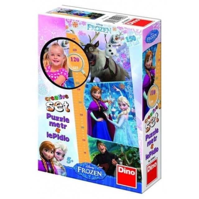 Obrázek produktu Puzzle metr Ledové království + lepidlo 150d. Dino