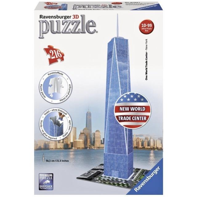 Obrázek produktu 3D Puzzle Trade Center 216d. Ravensburger