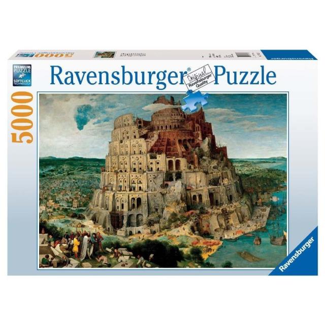 Obrázek produktu Ravensburger 17423 Puzzle Babylonská věž 5000 dílků