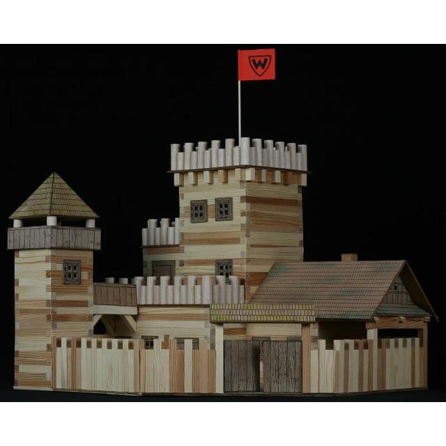 Obrázek produktu Walachia Hrad - dřevěná slepovací stavebnice