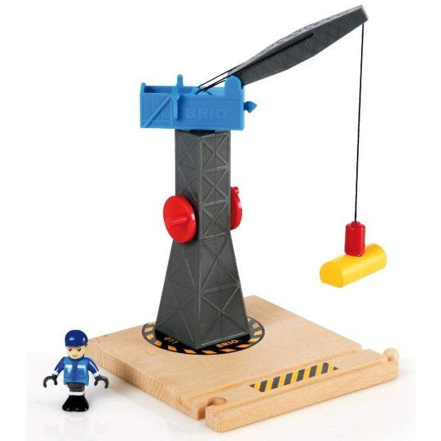 Obrázek produktu BRIO 33320 Věž s jeřábem a figurkou
