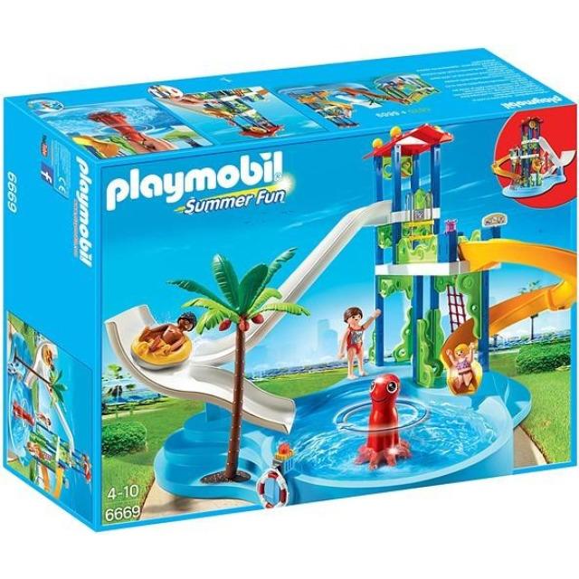 Obrázek produktu Playmobil 6669 Aquapark s tobogánem