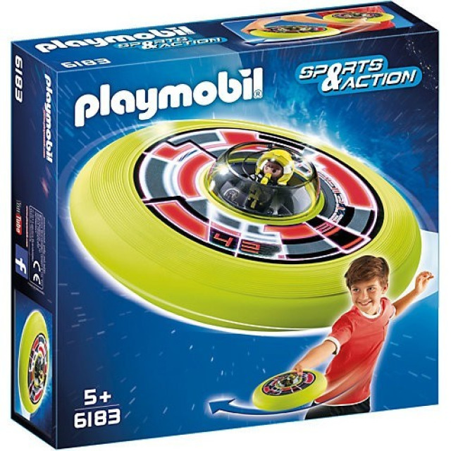Obrázek produktu Playmobil 6183 Super létající talíř s astronautem