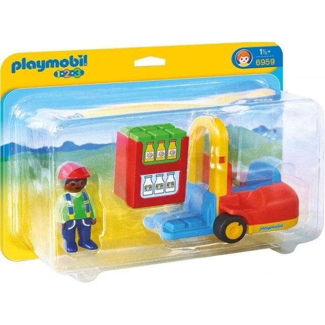 Obrázek produktu Playmobil 6959 Vysokozdvižný vozík (1.2.3)