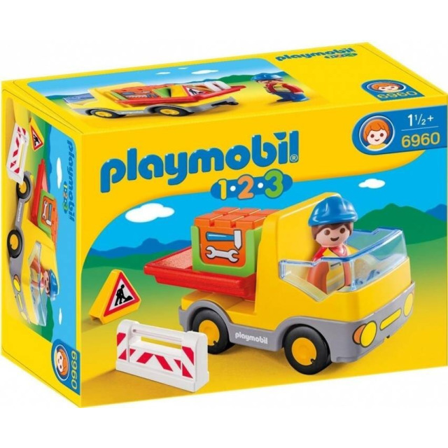 Obrázek produktu Playmobil 6960 Sklápěčka (1.2.3)