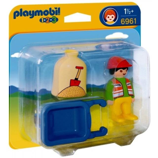 Obrázek produktu Playmobil 6961 Stavební kolečko (1.2.3)