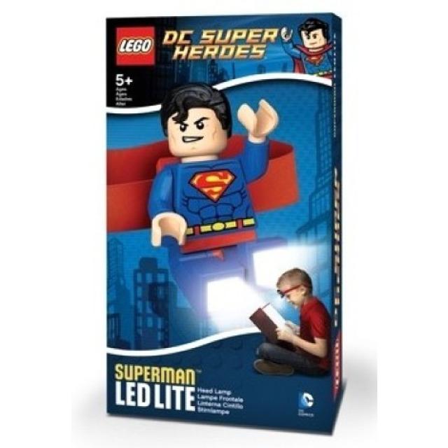 Obrázek produktu Lego LED čelovka Super Heroes Superman 7 cm