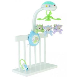 Obrázek 1 produktu Fisher Price Kolotoč nad postýlku Motýlci, Mattel CDN41