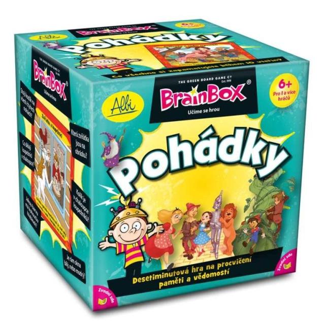 Obrázek produktu Brainbox Pohádky v kostce, naučná hra