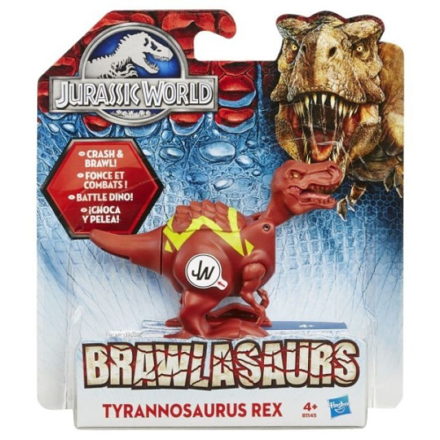 Obrázek produktu Jurský svět, Brawlasaur s vnitřním magnetickým spouštěčem Tyrannosaurus Rex