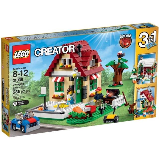 Obrázek produktu LEGO Creator 31038 Změny ročních období 3 v 1