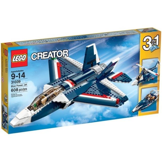 Obrázek produktu LEGO Creator 31039 Stíhačka Blue Power 3 v 1