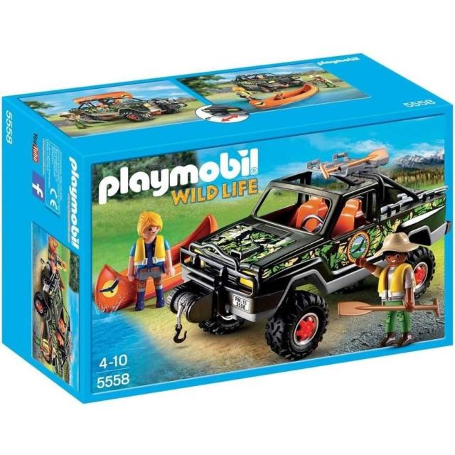 Obrázek produktu Playmobil 5558 Pick-up s kánoí