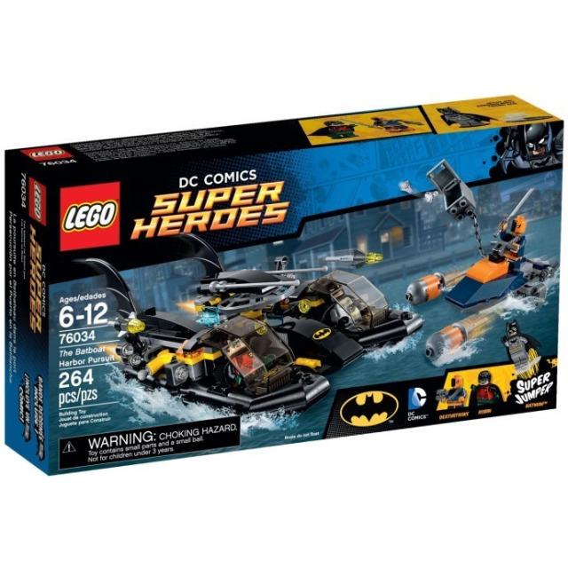 Obrázek produktu LEGO Super Heroes 76034 Honička v přístavu s Batmanovým vznášedlem