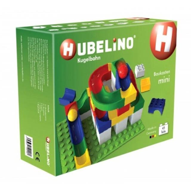 Obrázek produktu HUBELINO Kuličková dráha Set s kostkami Mini 45 ks
