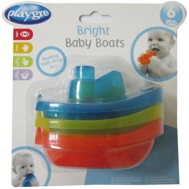 Obrázek produktu Zábavné lodičky do koupele, PlayGro