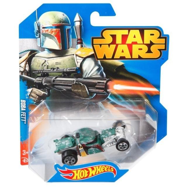 Obrázek produktu Hot Wheels SW autíčko Boba Fett, Mattel CGW42