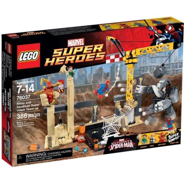 Obrázek produktu LEGO Super Heroes 76037 Superzlosynové Rhino a Sandman