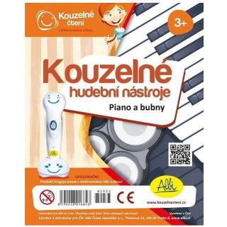 Obrázek 1 produktu Albi Kouzelné čtení Kouzelné hudební nástroje Piano a bubny