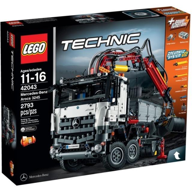 Obrázek produktu LEGO Technic 42043 Mercedes-Benz Arocs 3245