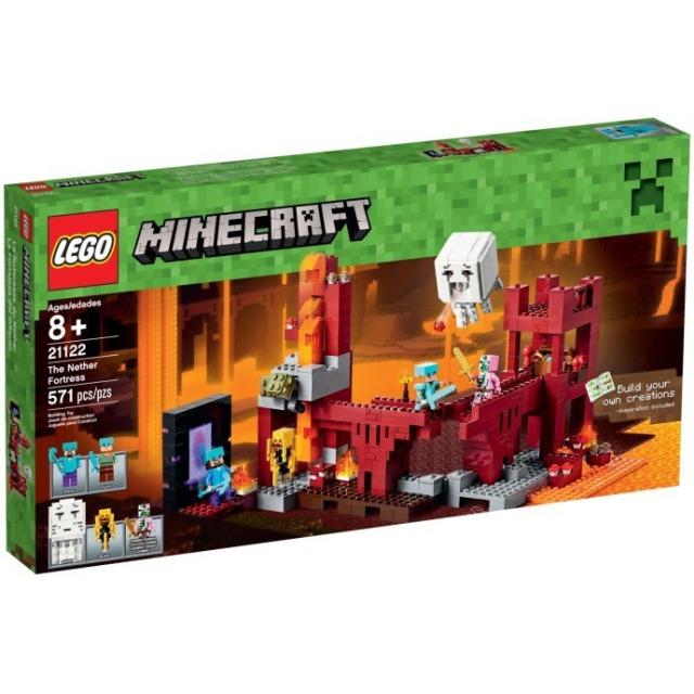 Obrázek produktu LEGO Minecraft 21122 Podzemní pevnost