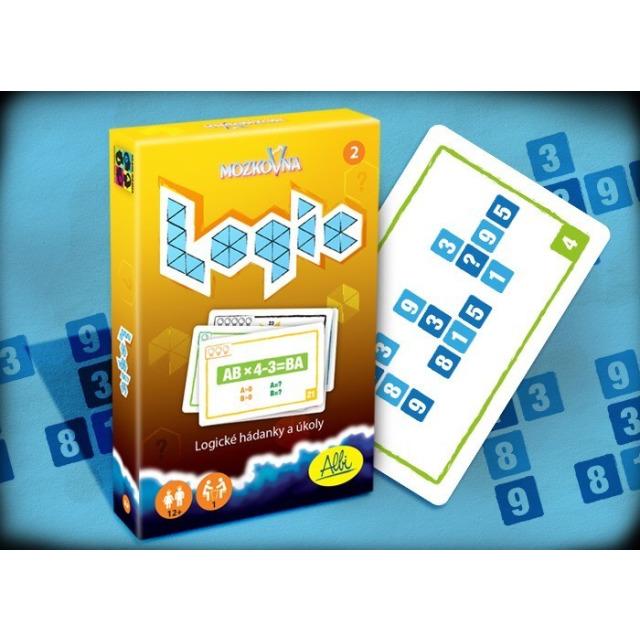 Obrázek produktu Mozkovna Logic 2 - Logické hádanky a úkoly