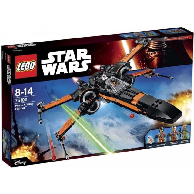 Obrázek produktu LEGO Star Wars 75102 Poe's X-Wing Fighter
