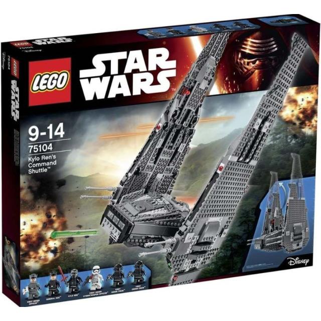 Obrázek produktu LEGO Star Wars 75104 Kylo Ren's Command Shuttle