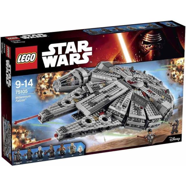 Obrázek produktu LEGO Star Wars 75105 Millennium Falcon
