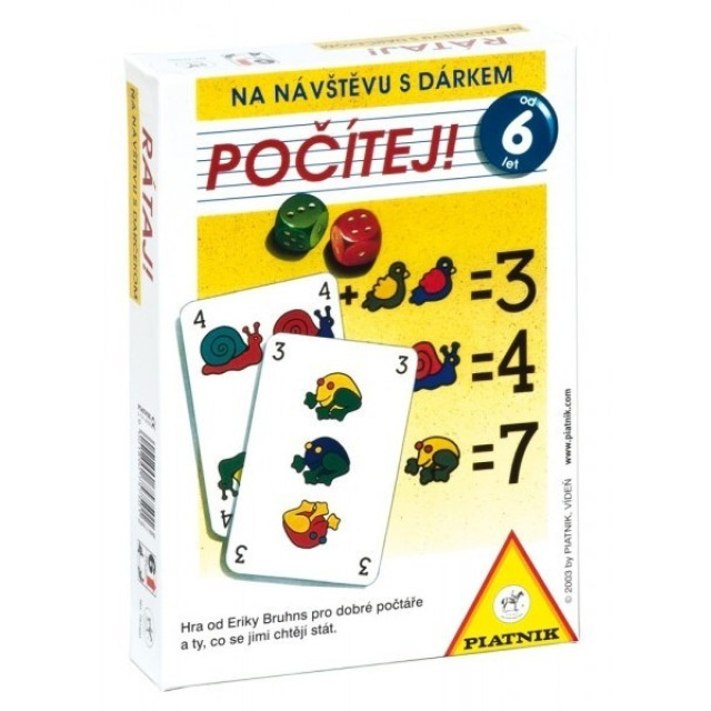 Obrázek produktu Počítej!, Piatnik