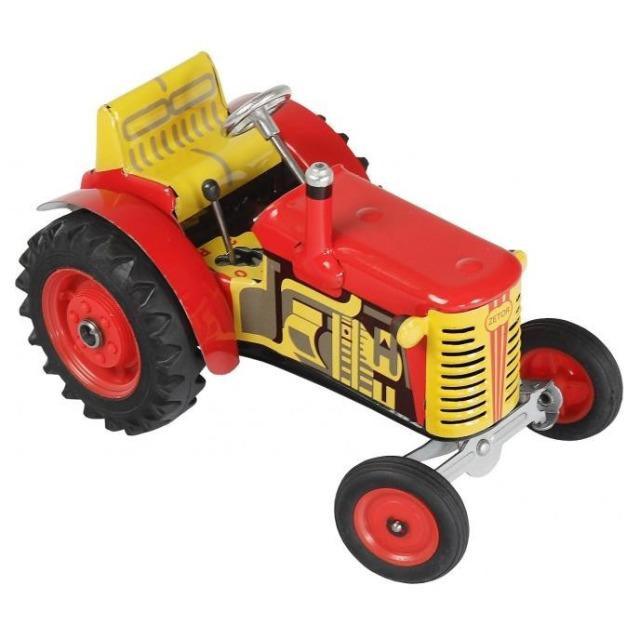 Obrázek produktu KOVAP Traktor Zetor 1:25 červenožlutý