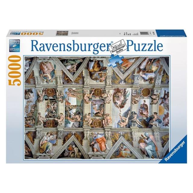 Obrázek produktu Ravensburger 17429 Puzzle Sixstinská kaple 5000 dílků