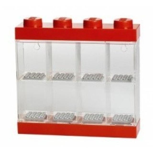 Obrázek produktu LEGO vitrínka na 8 minifigurek červená
