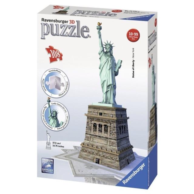 Obrázek produktu Ravensburger 12584 Puzzle 3D Socha Svobody 108 dílků