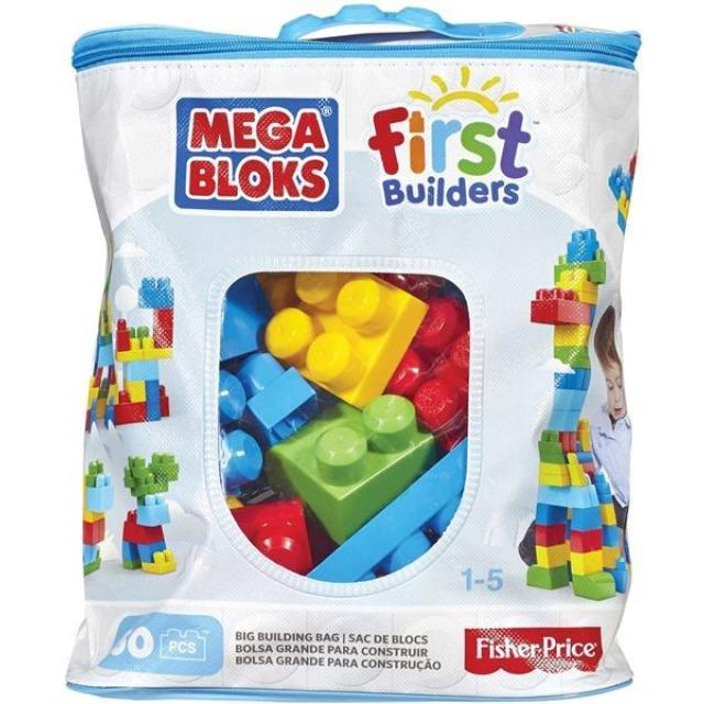 Obrázek produktu Mega Bloks First Builders Bag pro kluky 60 ks, Mattel DCH55