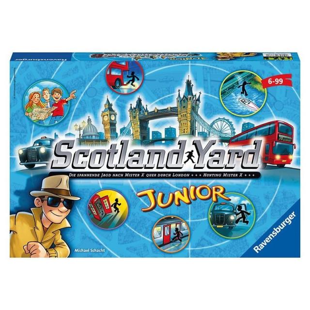Obrázek produktu Ravensburger 21162 Scotland Yard junior hra