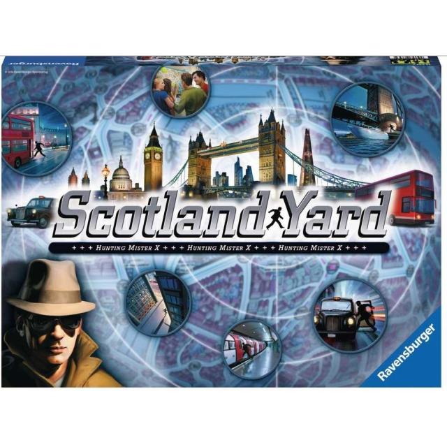 Obrázek produktu Ravensburger 26643 Scotland Yard hra