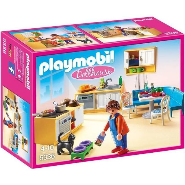 Obrázek produktu Playmobil 5336 Kuchyně s jídelním koutem