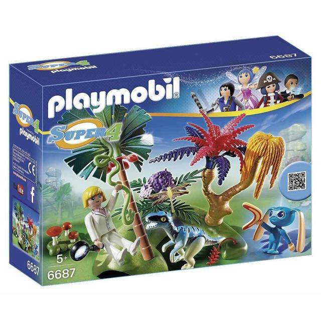 Obrázek produktu Playmobil 6687 Ztracený ostrov s Alienem a Raptorem