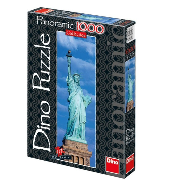 Obrázek produktu Puzzle Socha svobody panoramatické 1000d. Dino